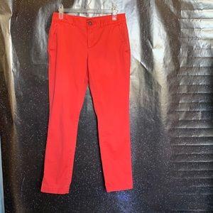 Banana Republic- Orange Pants size 4
